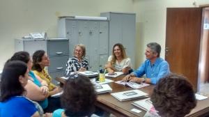 Encontro com a equipe do Cefortepe, ligado à Secretaria de Educação de Campinas