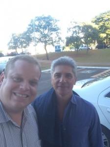 Com o consultor Guilherme