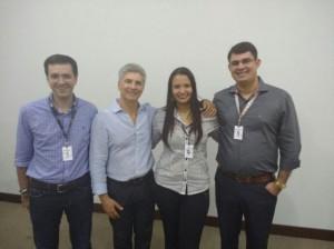 Com os consultores em Caruaru